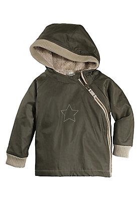 - Raincare Jacke aus reiner Bio-Baumwolle