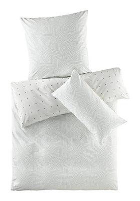 - Renforcé-Wendebettwäsche Kanagawa aus reiner Bio-Baumwolle