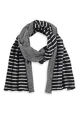 Tücher/Schals - Ringel-Schal aus reiner Bio-Baumwolle