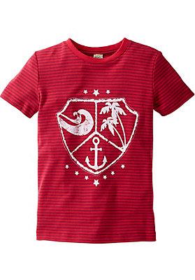 Shirts - Ringelshirt aus reiner Bio-Baumwolle