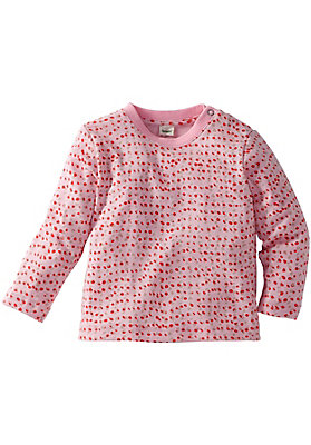 - Rippshirt aus reiner Bio-Baumwolle