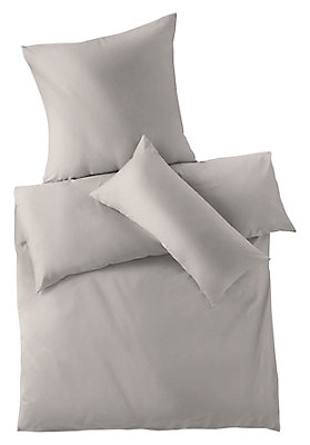 - Satin-Bettwäsche aus reiner Bio-Baumwolle
