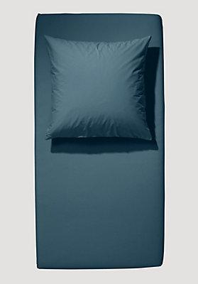 - Satin-Spannbetttuch aus reiner Bio-Baumwolle