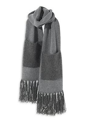 - Schal aus Lambswool mit Alpaka