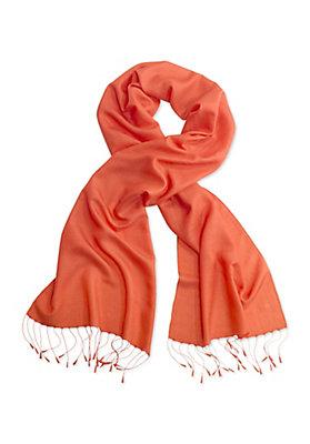 - Schal aus Schurwolle mit Seide
