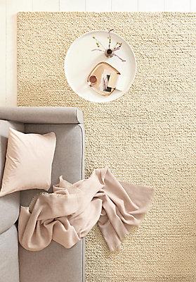 Ökologische Teppiche aus Schurwolle für das Wohnzimmer - hessnatur ...