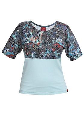 - Shirt Farbrausch blau