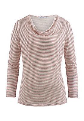 - Shirt aus Bio-Baumwolle mit Schurwolle