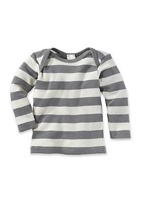 - Shirt aus Bio-Schurwolle mit Seide