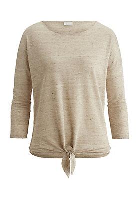 - Shirt aus reinem Leinen