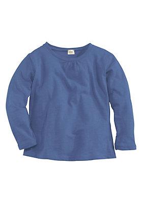 kinderkollektion in blau - Shirt aus reiner Bio-Baumwolle