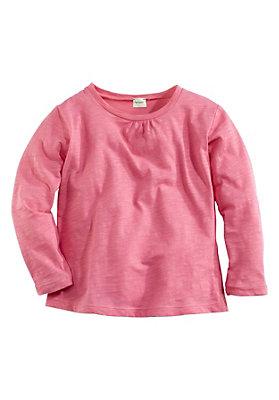 pinke-maedchenkleidung - Shirt aus reiner Bio-Baumwolle