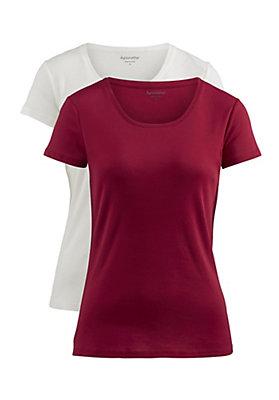 - Shirt im 2er Set aus reiner Bio-Baumwolle