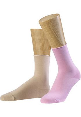 - Socke aus Bio-Baumwolle im 2er-Pack