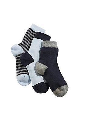 - Socke aus Bio-Baumwolle im 3er-Pack