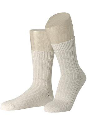 - Socke aus Bio-Baumwolle und Bio-Leinen