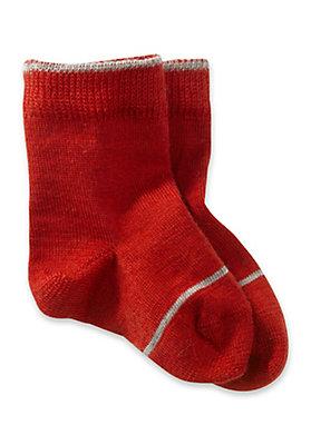 - Socke aus Schurwolle mit Baumwolle
