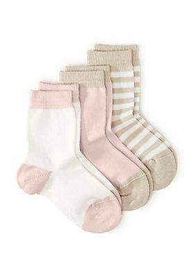 - Socke im 3er-Pack aus Bio-Baumwolle