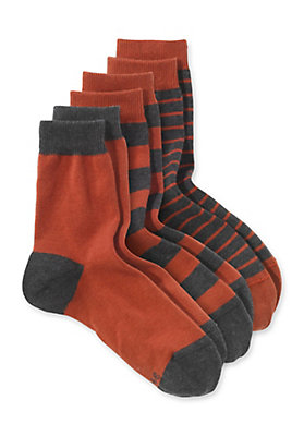 - Socke im 3er-Pack aus Bio-Baumwolle mit Elasthan