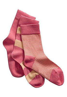 - Socken im 3er-Pack aus Bio-Baumwolle