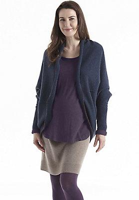 Pullover-und-Strickjacken Damen - Strickjacke aus Schurwolle