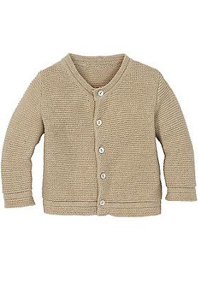 Pullover-und-Strickjacken Babies - Strickjacke aus reiner Bio-Baumwolle