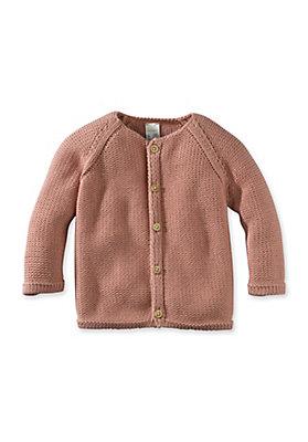 - Strickjacke aus reiner Bio-Baumwolle