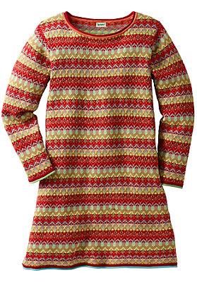 - Strickkleid aus reiner Bio-Baumwolle