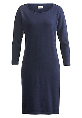 Kleider - Strickkleid aus reiner Bio-Baumwolle