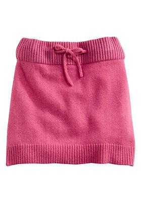 schulanfang - Strickrock aus reiner Schurwolle