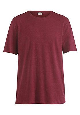 - T-Shirt aus Hanf mit Bio-Baumwolle