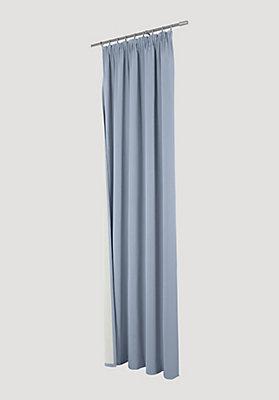 """- Thermo-Vorhang """"Neveres"""" mit Faltenband aus reiner Bio-Baumwolle"""