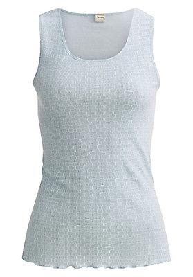 - Trägerhemd aus reiner Bio-Baumwolle