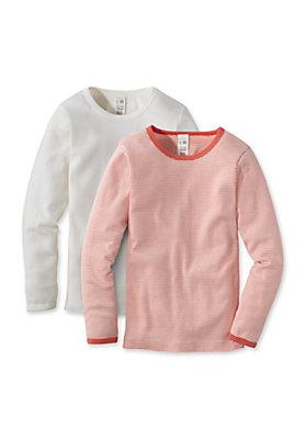 - Unterhemd im 2er-Set aus reiner Bio-Baumwolle