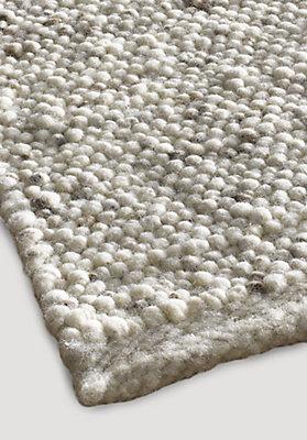 Ökologische teppiche aus schurwolle für das wohnzimmer - hessnatur