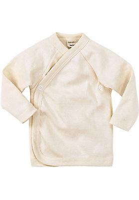 - Wickelhemd aus Bio-Merinowolle und Seide