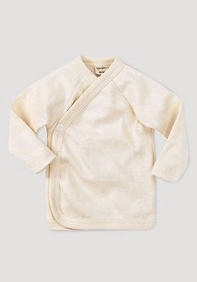 - Wickelhemd aus reiner Bio-Baumwolle