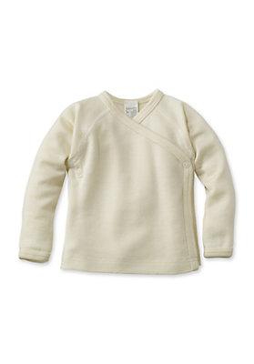 - Wickelhemd aus reiner Bio-Merinowolle