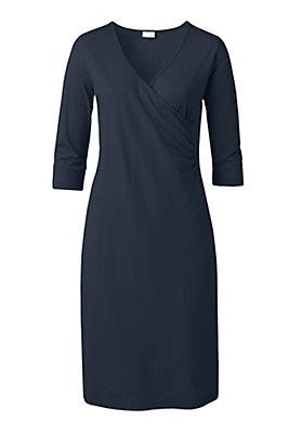 Kleider - Wickelkleid aus reiner Bio-Baumwolle