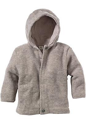 - Wollfleece-Jacke aus reiner Bio-Merinowolle