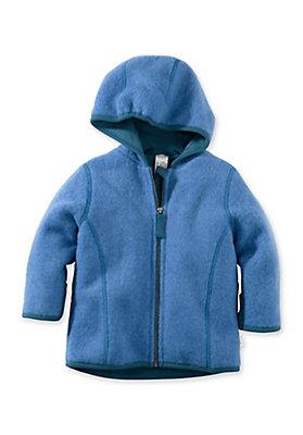 - Wollfleece Jacke aus reiner Bio-Merinowolle