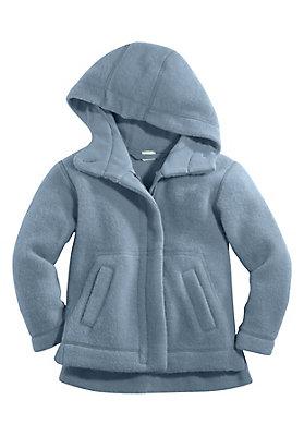 - Wollfleece-Jacke aus reiner Bio-Schurwolle