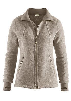 - Wollfleece-Jacke für Sie aus reiner Bio-Schurwolle
