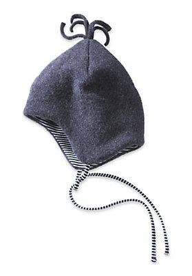- Wollfleece Mütze aus reiner Bio-Merinowolle