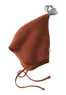 - Wollfleece Mütze aus reiner Schurwolle