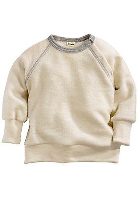 - Wollfrottee-Shirt ausreiner Bio-Schurwolle
