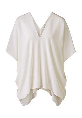 - Zero Waste Bluse aus reiner Seide