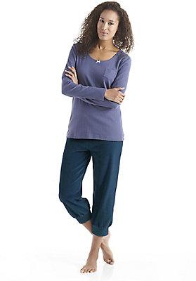 Schlafwäsche - 3/4 Pyjamahose