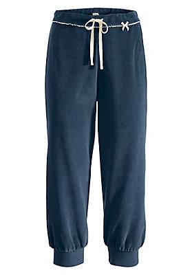 Schlafwäsche - 3/4 Pyjamahose aus reiner Bio-Baumwolle