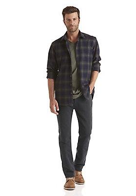 - 5-Pocket-Hose aus recycelter Bio-Baumwolle und Bio-Leinen